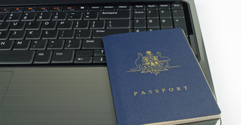 Personal details and a passport